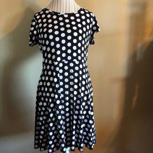 Michael by Michael Kors  polka dot dress size lg